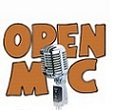 Microphone with the words Open Mic