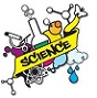 "Various Science Elements with Yellow ""Science"" Banner"