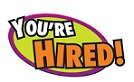 You're Hired! Banner